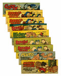 Premiums:Comic, Wheaties (Premiums) Group (Walt Disney Productions, 1950)Condition: Average VG.... (Total: 9 Comic Books)