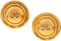 Luxury Accessories:Accessories, Chanel 1985 Classic Button Earrings. ... (Total: 2 Items)