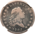 Early Half Dollars, 1795 50C 2 Leaves Fine 15 NGC. O-116, R.4....