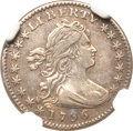 Early Half Dimes, 1796 H10C LIKERTY -- Obverse Scratched -- NGC Details. AU. V-1,LM-1, R.3....