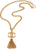 Luxury Accessories:Accessories, Chanel 1993 Etruscan Heavy Tassel Runway Necklace. ...