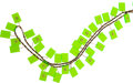 Luxury Accessories:Accessories, Chanel 1981 Custom Order Neon Green Plexi-Charm Necklace onLambskin Chain. ...