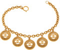 Luxury Accessories:Accessories, Chanel 1983 Classic 5-Coin Iconic Charm Necklace. ...