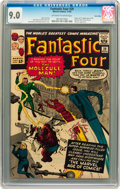 Silver Age (1956-1969):Superhero, Fantastic Four #20 Twin Cities pedigree (Marvel, 1963) CGC VF/NM9.0 Off-white to white pages....