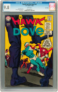 Silver Age (1956-1969):Superhero, Hawk and the Dove #4 Twin Cities pedigree (DC, 1969) CGC NM/MT 9.8 White pages....