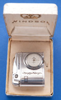 Timepieces:Other , Windsor Lighter Wristwatch With Original Box. ...