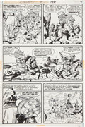 Original Comic Art:Panel Pages, Jack Kirby and Mike Royer Kamandi, the Last Boy on Earth #3page 5 Original Art (DC, 1973)....