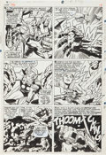Original Comic Art:Panel Pages, Jack Kirby and Vince Colletta Thor #136 Sif page 15 OriginalArt (Marvel, 1967)....