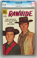 Silver Age (1956-1969):Western, Four Color #1028 Rawhide (#1) File Copy (Dell, 1959) CGC VF/NM 9.0Off-white to white pages....