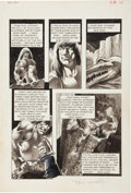 "Original Comic Art:Panel Pages, Bernie Wrightson Badtime Stories ""The Task"" page 18 OriginalArt (Graphic Masters, 1971)...."
