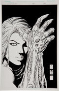 Original Comic Art:Covers, Michael Choi and Joe Weems Witchblade #80 Alternative Cover Original Art (Image/Top Cow, 2004)....