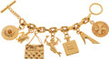 Luxury Accessories:Accessories, Chanel 1985 Iconic Grand Scale Charm Bracelet. ...
