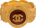 Luxury Accessories:Accessories, Chanel 1996 Rare Carnelian Gripoix Etruscan Runway Bangle. ...