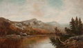 Paintings, FROM THE FLANNER & BUCHANAN CORPORATE COLLECTION. WILLIAM HENRY HILLIARD (American, 1836-1905). New England Landscape...