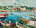 Paintings, YOLANDE ARDISSONE (French, b. 1927). Istanbul. Oil on canvas. 25 x 36-1/4 inches (63.5 x 92.1 cm). Signed lower right: ...