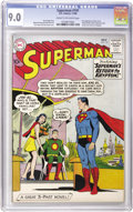Silver Age (1956-1969):Superhero, Superman #141 (DC, 1960) CGC VF/NM 9.0 Cream to off-white pages....