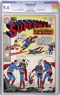 Superman #148 (DC, 1961) CGC NM 9.4 Off-white pages