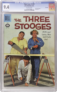 Three Stooges File Copies CGC Group (Dell/Gold Key, 1961-72). Here is your chance to get a jump on a slabbed run of Thre...