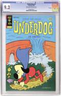 Bronze Age (1970-1979):Cartoon Character, Underdog CGC File Copies Group (Gold Key, 1975-78).... (Total: 4)