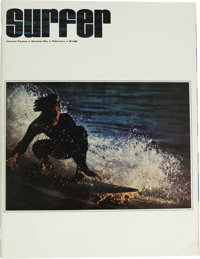 Surfer Magazine V12#6 - featuring Tales From the Tube Comix R. Crumb (Surfer Publications, 1971) Condition: VF-