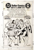 Original Comic Art:Covers, Neal Adams - Superman Family #184 Cover Original Art (DC, 1977)....