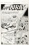 "Original Comic Art:Complete Story, Matt Baker - Fight Comics #53, Complete 6-page Kayo Kirby Story""The Rumble in Rio"" Original Art (Fiction House, 1947)...."