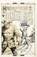 Original Comic Art:Covers, Luis Dominguez - Weird Western Tales #29 Jonah Hex Cover OriginalArt (DC, 1975). ...