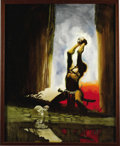 Original Comic Art:Covers, Jeff Jones - Conan Painting Original Art (undated). ...