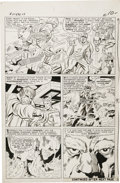 Original Comic Art:Panel Pages, Jack Kirby and Chic Stone - X-Men #11, page 8 Original Art (Marvel,1965)....