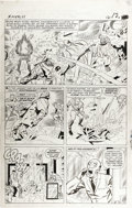 Original Comic Art:Panel Pages, Jack Kirby and Chic Stone - X-Men #11, page 9 Original Art (Marvel,1965)....