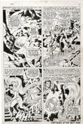 Original Comic Art:Panel Pages, Jack Kirby and Joe Sinnott - Fantastic Four #56, page 5 (Marvel,1966)....