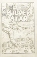 Original Comic Art:Covers, Jack Kirby - Silver Star #3 Unpublished Alternate Cover Original Art (Pacific, 1983). ...