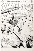 Original Comic Art:Splash Pages, Joe Kubert - All-American Men of War #52, Splash Page 1 OriginalArt (DC, 1957). ...