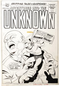 Original Comic Art:Covers, Kurt Schaffenberger - Adventures Into the Unknown #160, NemesisCover Original Art (ACG, 1965). ...