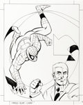 Original Comic Art:Covers, Ken Steacy - Spider-Man: The Chameleon's Many Faces Cover OriginalArt (Mouse Works, 1996)....