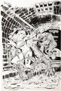 Original Comic Art:Covers, Frank Thorne - Marvel Feature #6 Red Sonja Cover Original Art(Marvel, 1976). ...