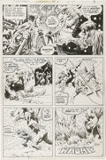 Original Comic Art:Panel Pages, Bernie Wrightson - Swamp Thing #8, page 8 Original Art (DC,1974)....