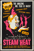 "Movie Posters:Sexploitation, Steam Heat (William Mishkin Motion Pictures Inc., 1963). One Sheet(27"" X 41""). Sexploitation.. ..."