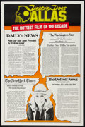 """Movie Posters:Adult, Debbie Does Dallas (Numa, 1978). One Sheet (27"""" X 41"""") Review Style. Adult.. ..."""