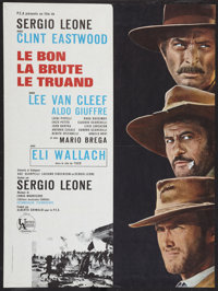 "The Good, the Bad and the Ugly (United Artists, 1968). French Affiche (23.5"" X 31.5""). Western"