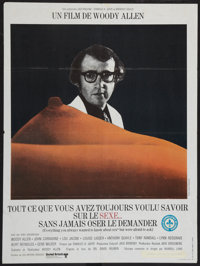 """Everything You Always Wanted to Know About Sex, But Were Afraid to Ask (United Artists, 1972). French Affiche (32.5""""..."""