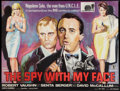 "Movie Posters:Action, The Spy With My Face (MGM, 1965). British Quad (30"" X 40"").Action.. ..."