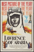 "Movie Posters:Academy Award Winners, Lawrence of Arabia (Columbia, 1962). One Sheet (27"" X 40.5"") Style D. Academy Award Winners.. ..."