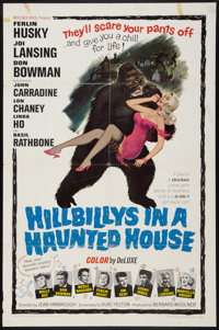 """Hillbillys in a Haunted House (Woolner Brothers, 1967). One Sheet (27"""" X 41""""). Comedy"""