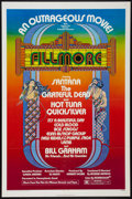"Movie Posters:Rock and Roll, Fillmore (20th Century Fox, 1972). One Sheet (27"" X 41""). Rock andRoll.. ..."