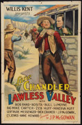 "Movie Posters:Western, Lawless Valley (Willis Kent Productions, 1932). One Sheet (27"" X 41""). Western.. ..."