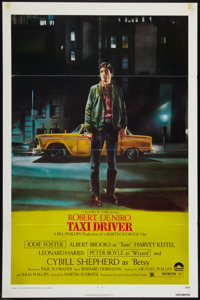 "Taxi Driver (Columbia, 1976). One Sheet (27"" X 41""). Crime"