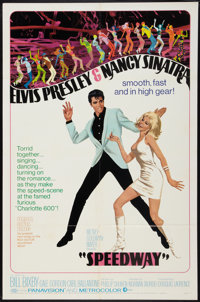 "Speedway (MGM, 1968). One Sheet (27"" X 41""). Elvis Presley"
