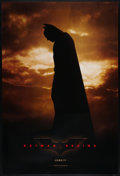 "Movie Posters:Action, Batman Begins (Warner Brothers, 2005). One Sheets (2) (27"" X 40"") Aand B DS Advance Styles. Action.. ... (Total: 2 Items)"