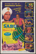 "Movie Posters:Adventure, Sabu and the Magic Ring (Allied Artists, 1957). One Sheet (27"" X41""). Adventure.. ..."